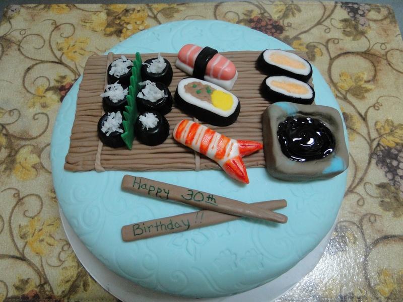 """The """"Sushi"""" Cake"""