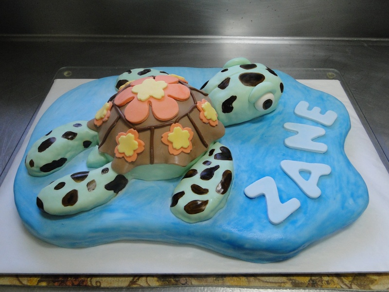 "The ""Turtle"" Cake"